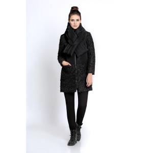 PIRS 272 Пальто (черный)