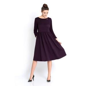 PIRS 297 Платье (баклажан)