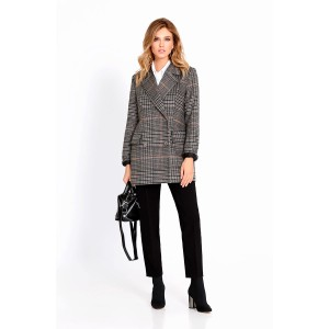 PIRS 655 Пальто (серый/черный)