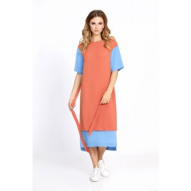 PIRS 676 Платье (персик) ..
