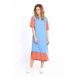 PIRS 676 Платье (голубой) ..