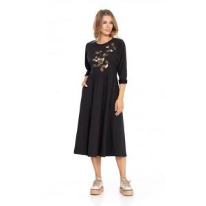 PIRS 798 Платье (черный)