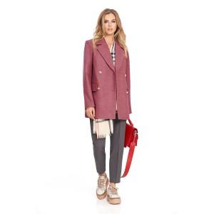 PIRS 815 Пальто (грязно-розовый)