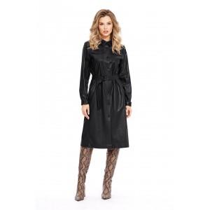 PIRS 945 Платье - плащ (чёрный)
