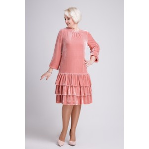 PRESTIGEMODA 3165 Платье (розовое)
