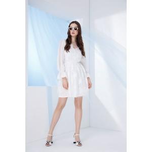 PRESTIGEMODA 3599 Платье (молочный)