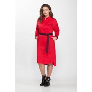 PRESTIGEMODA 3621 Платье (Красный)