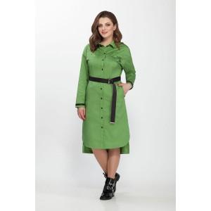 PRESTIGEMODA 3621 Платье (Зелёный)