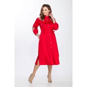 PRESTIGEMODA 3648 Платье (красный)