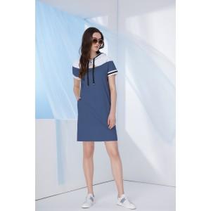 PRESTIGEMODA 3660 Платье (синий)