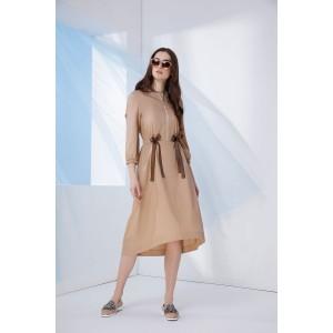 PRESTIGEMODA 3661 Платье (бежевый)