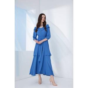 PRESTIGEMODA 3685 Платье (голубой)