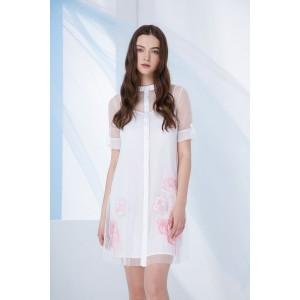 PRESTIGEMODA 3690 Платье (белый)