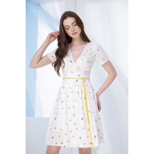 PRESTIGEMODA 3698 Платье (молочный)