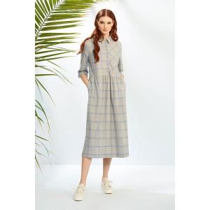 PRESTIGEMODA 3728 Платье (серый)