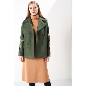 PRESTIGEMODA 3754 Пальто (хаки)