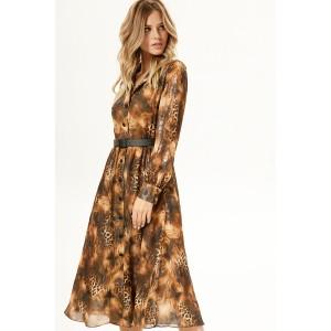 PRESTIGEMODA 3775 Платье (коричневый)