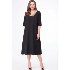 PRESTIGEMODA 3782 Платье (чёрный)