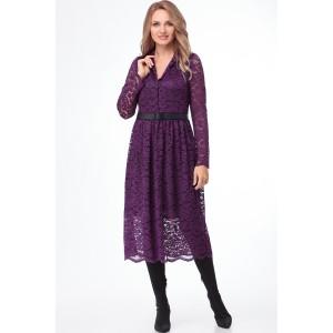 PRESTIGEMODA 3785 Платье (фиолетовый)