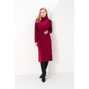PRESTIGEMODA 3795 Платье (бордо)