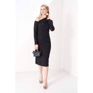 PRESTIGEMODA 3798 Платье (черный)