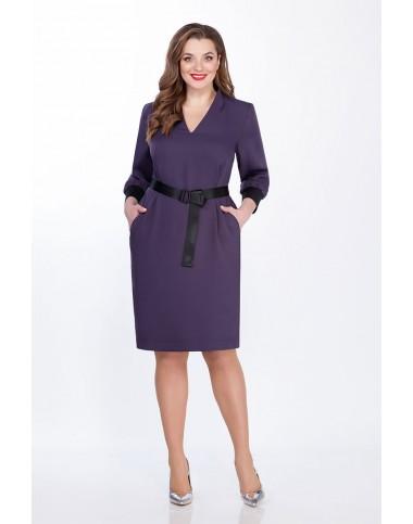 PRESTIGEMODA 3804 Платье (фиолет)