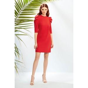 PRESTIGEMODA 3851 Платье (красный)