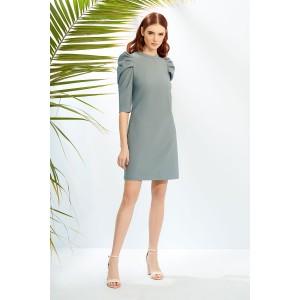 PRESTIGEMODA 3851 Платье (серо-голубой)