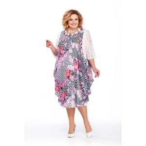 PRETTY 435 Платье (сиреневый)