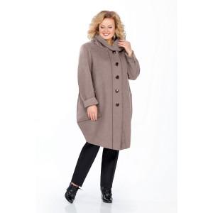 PRETTY 485 Пальто (серый)