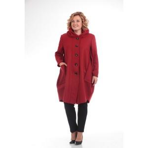 PRETTY 485 Пальто красный