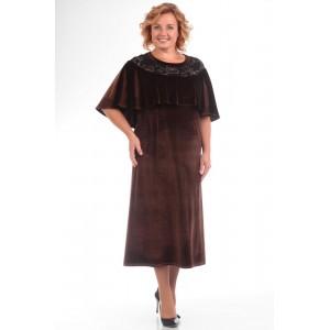 PRETTY 573 Платье (коричневый)