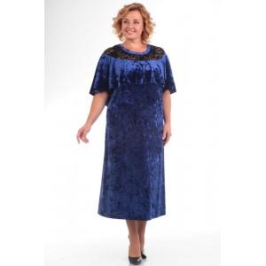 PRETTY 573 Платье (синий)
