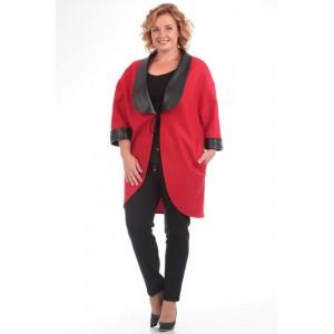PRETTY 577 Пальто (красный)