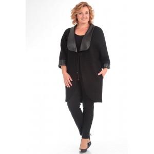 PRETTY 577 Пальто (черный)