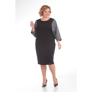 PRETTY 654 Платье (черный/серый)
