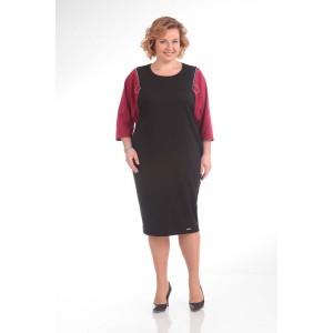 PRETTY 654 Платье (черный/красный)