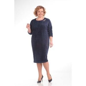 PRETTY 655 Платье (темно-синий)