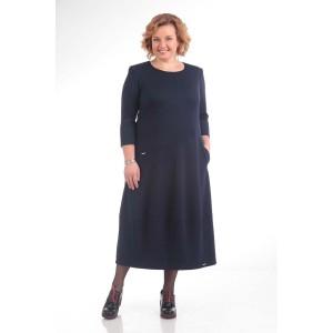 PRETTY 657 Платье (темно-синий)