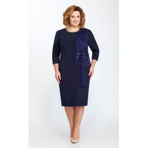 PRETTY 806 Платье (темно-синий)
