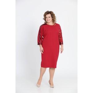 PRETTY 811 Платье (красный)