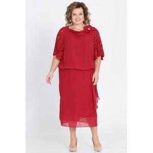 PRETTY 813 Платье (красный)