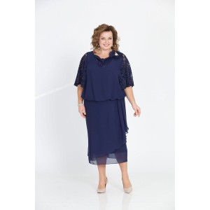PRETTY 813 Платье (темно-синий)