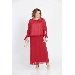 PRETTY 814 Платье (красный)