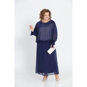 PRETTY 814 Платье (темно-синий)