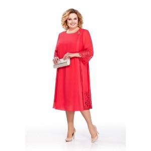 PRETTY 831 Платье (красный)
