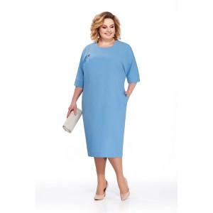 PRETTY 839 Платье (голубой)