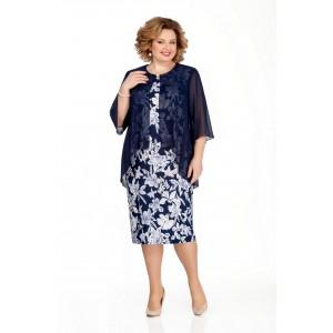 PRETTY 850 Платье (темно-синий)