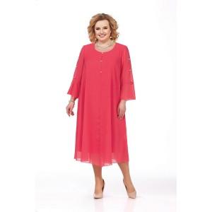 PRETTY 851 Платье (коралл)