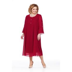 PRETTY 851 Платье (красный)